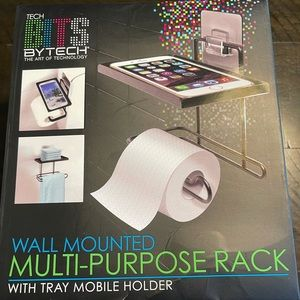 MULTI PURPOSE RACK FOR PHONE AND TOILET PAPER